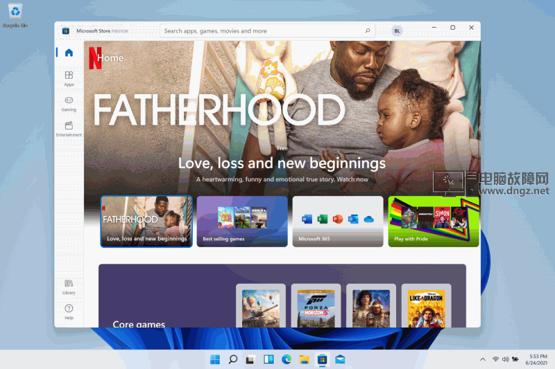 Microsoft Store Preview on Windows 11.